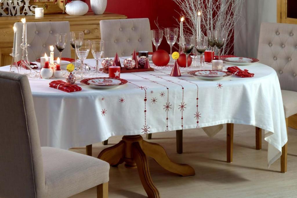 Table de Noël Interior's : collection Noël chic