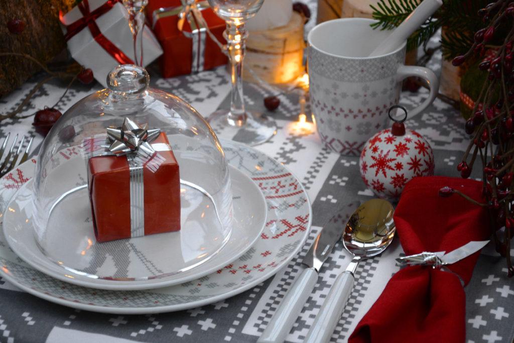 Vaisselle Côté Montagne de Noël