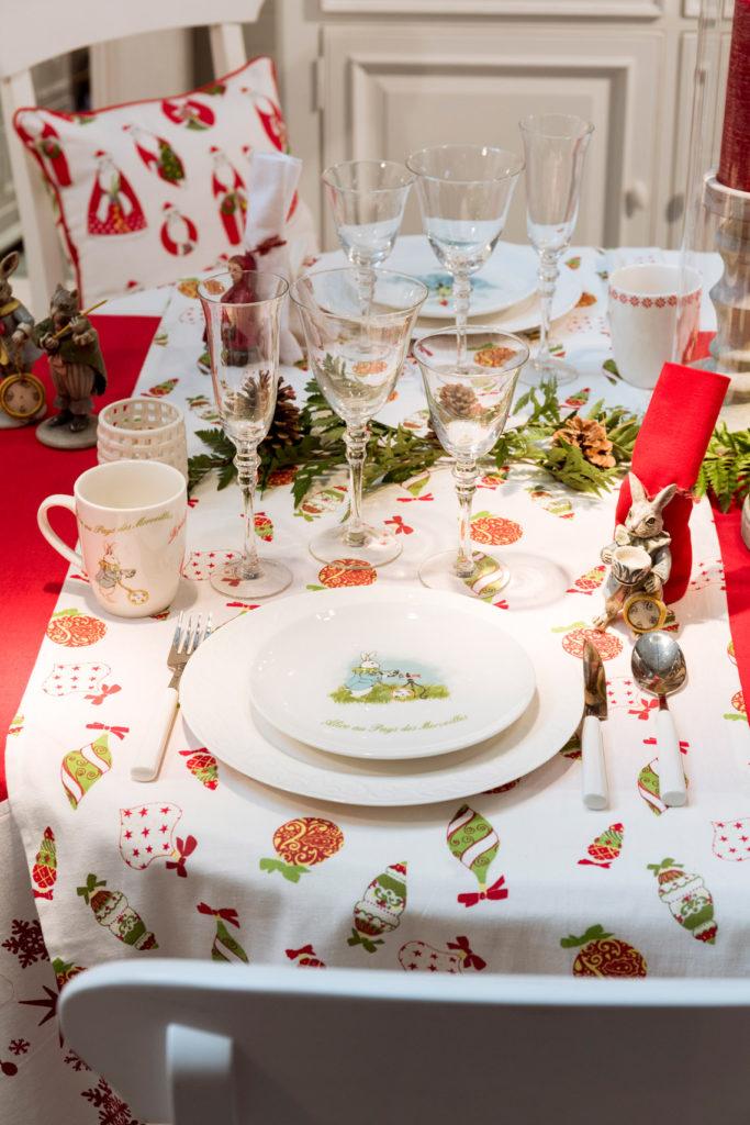 Table Monts & Merveilles : déco de Noël Interior's