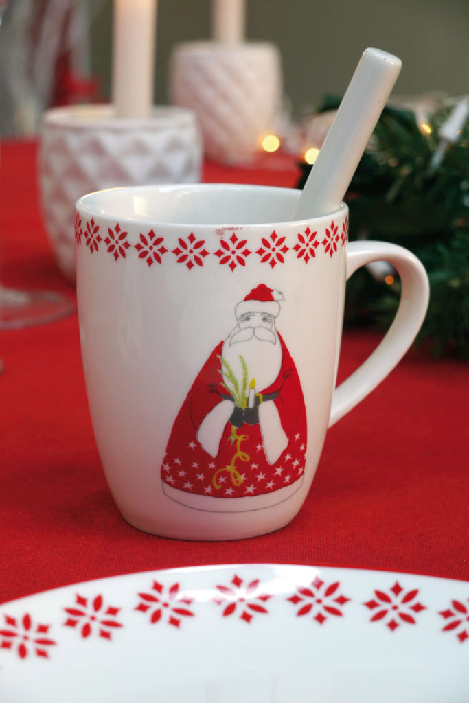Mugs Père Noël Deco Monts et Merveilles
