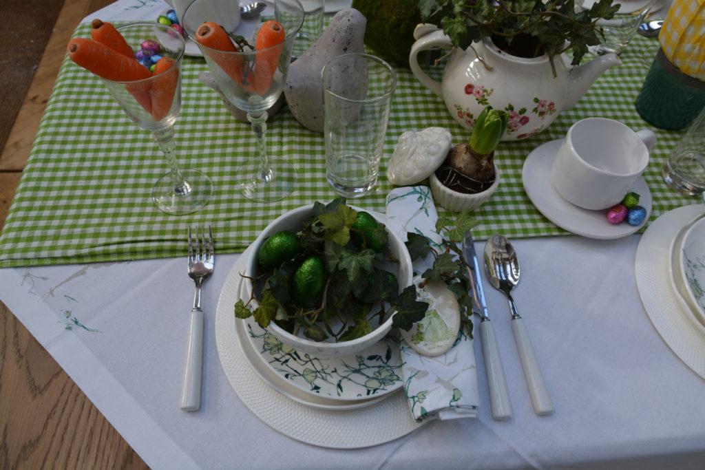 Vaisselle Interior's pour une décoration de Pâques