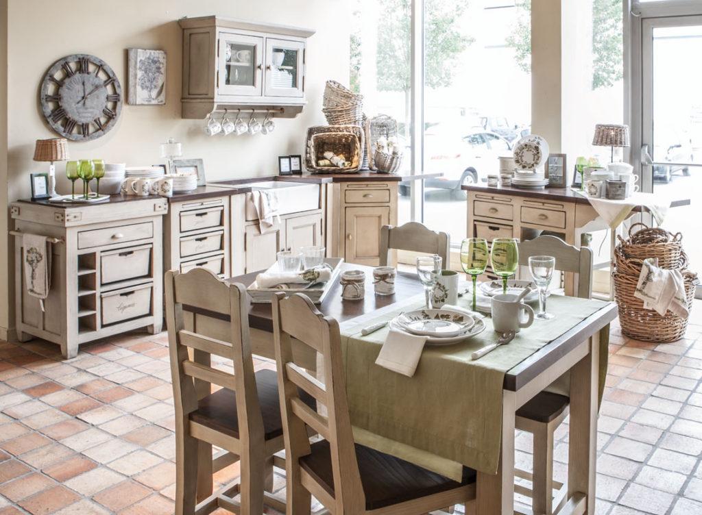 Boutique Interior's cuisine Brocante