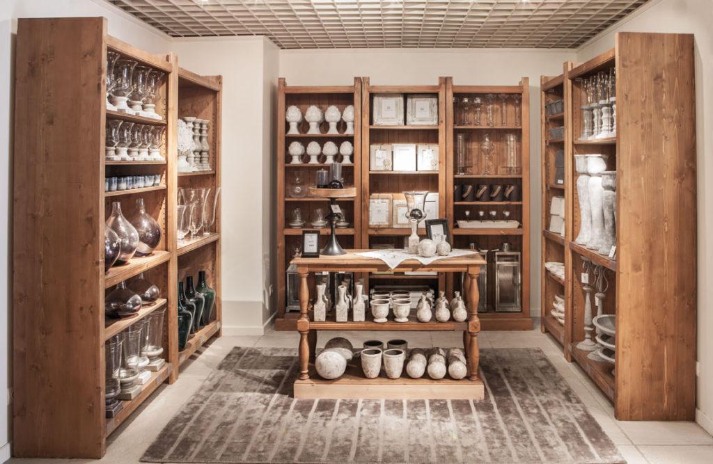 Corner décoration en boutique Interior's