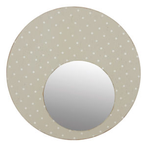 Miroir rond à poids