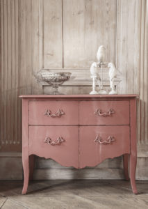 Commode personnalisable rose