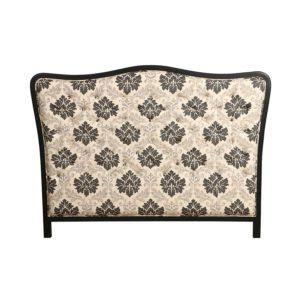 Tête de lit romantique capitonnée à motifs