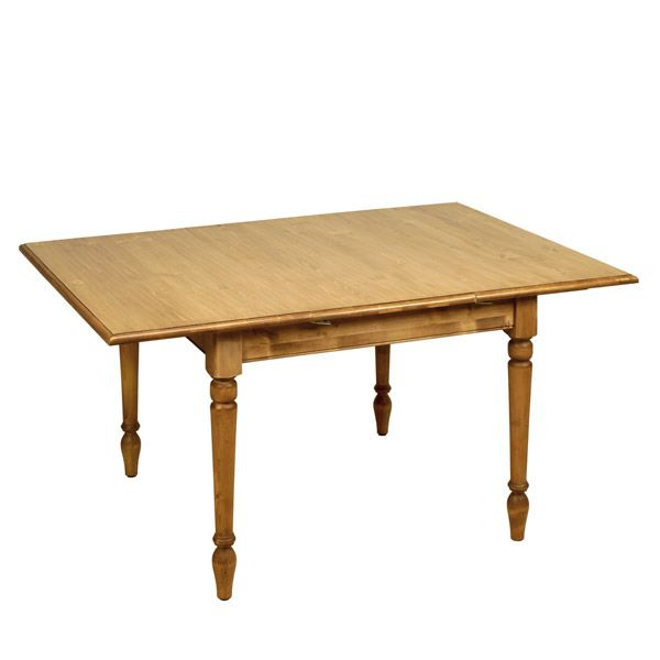 Table carr e allonges 4 6 couverts naturel interior 39 s for Table qui s allonge