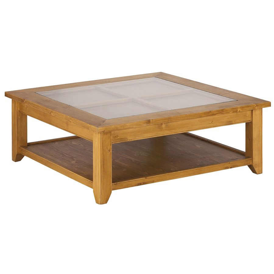 Table basse ovale bois pas cher for Grande table de salon en bois