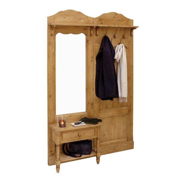 porte manteaux en pic a et m tal naturel interior 39 s. Black Bedroom Furniture Sets. Home Design Ideas
