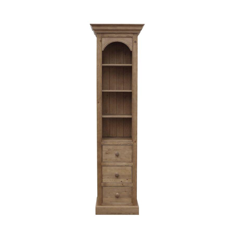 colonne 3 tiroirs 45 cm naturel interior 39 s. Black Bedroom Furniture Sets. Home Design Ideas