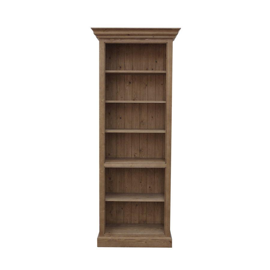 biblioth que ouverte 70 cm naturel interior 39 s. Black Bedroom Furniture Sets. Home Design Ideas