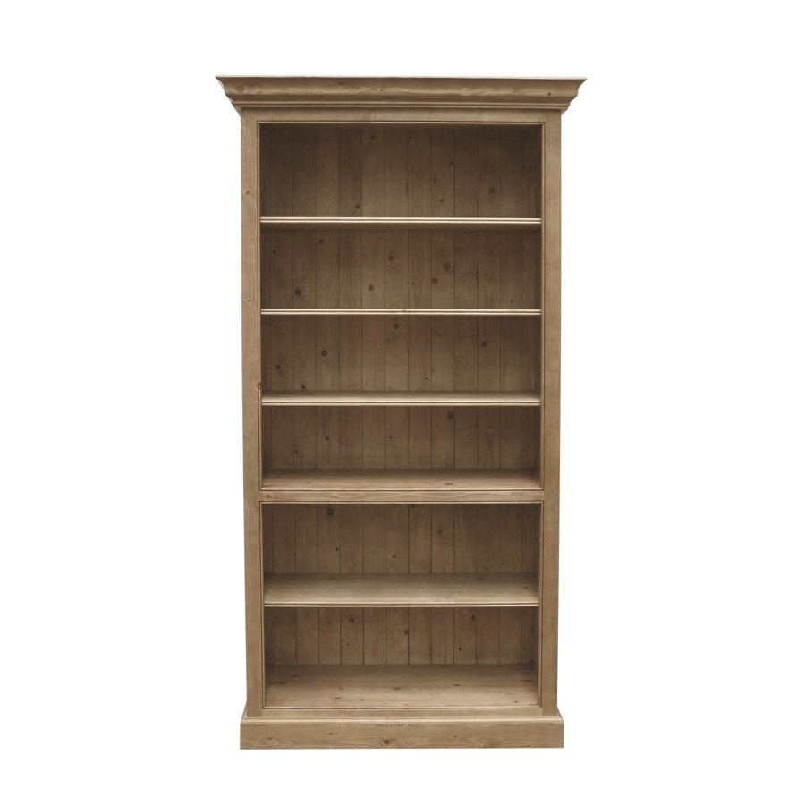 biblioth que ouverte 100 cm naturel interior 39 s. Black Bedroom Furniture Sets. Home Design Ideas