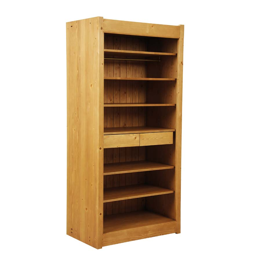 dressing 2 tiroirs naturel interior 39 s. Black Bedroom Furniture Sets. Home Design Ideas