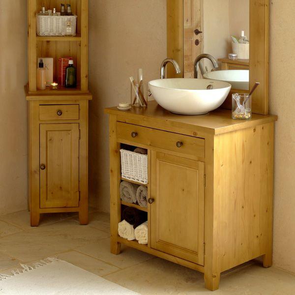 Meuble de salle de bain avec vasque naturel interior 39 s for Recherche meuble de salle de bain