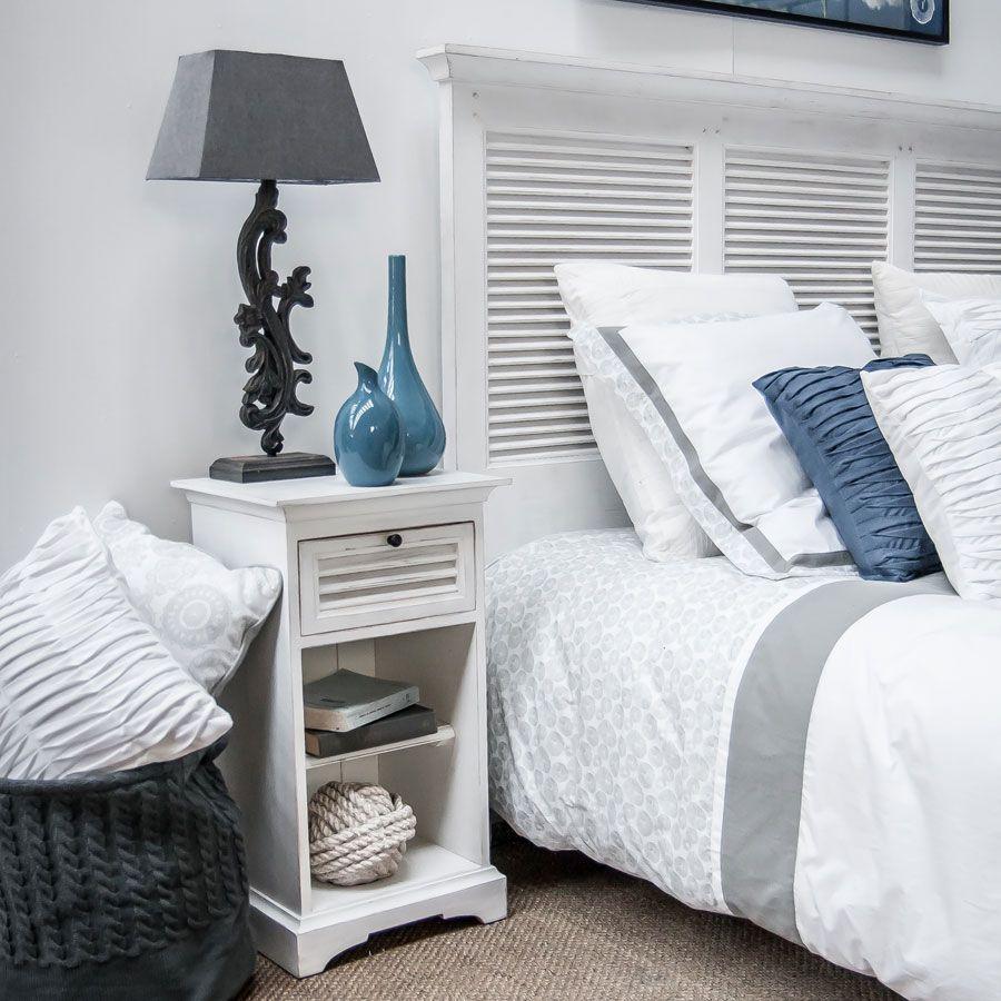 t te de lit en bois 180 cm blanc interior 39 s. Black Bedroom Furniture Sets. Home Design Ideas