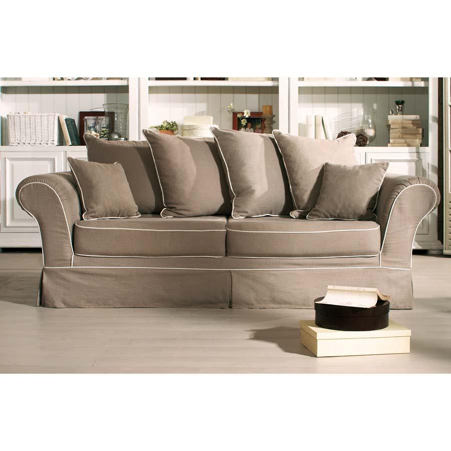 canap 3 places british beige interior 39 s. Black Bedroom Furniture Sets. Home Design Ideas