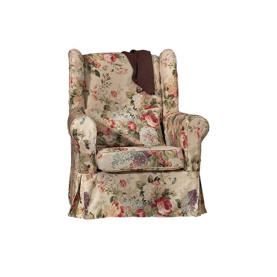 Fauteuil claridge beige interior 39 s for Housse de fauteuil bergere