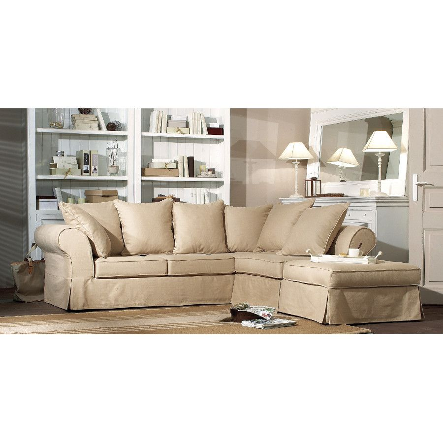 Wilson ii d 39 angle canap 5 places salon interior 39 s meubles d c - Canape interiors occasion ...