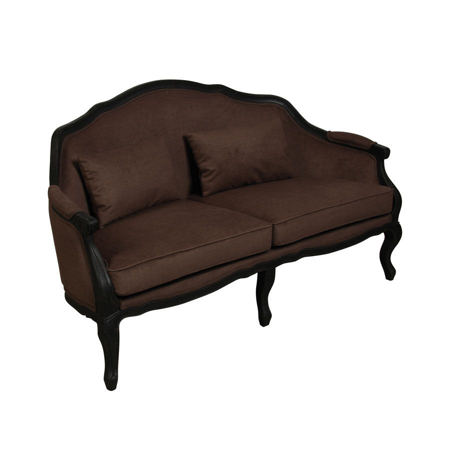 banquette velours marron beige interior 39 s. Black Bedroom Furniture Sets. Home Design Ideas