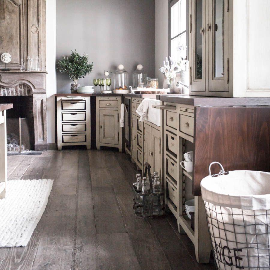 Meuble de cuisine 4 bacs beige interior 39 s for Meubles interiors