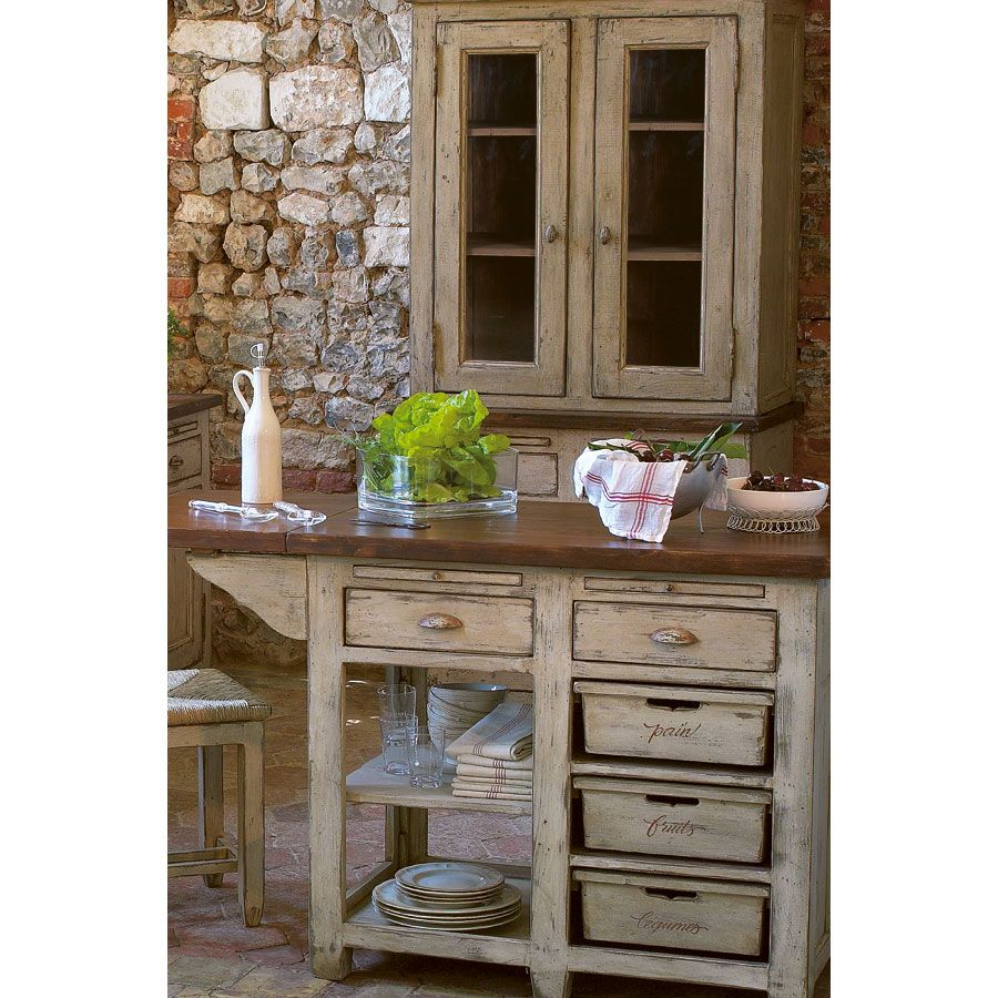 haut de buffet vaisselier 2 portes vitr es beige interior 39 s. Black Bedroom Furniture Sets. Home Design Ideas