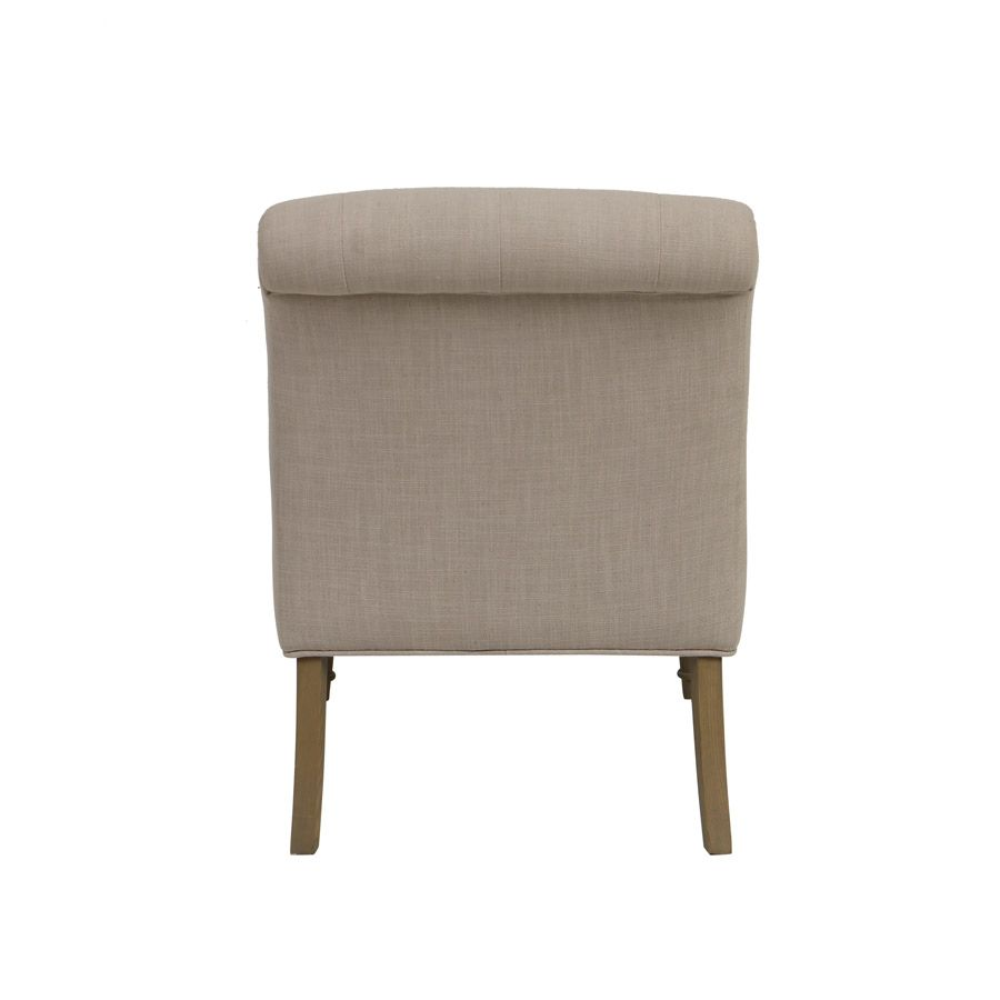 Fauteuil chauffeuse leopold beige interior39s for Fauteuil chauffeuse