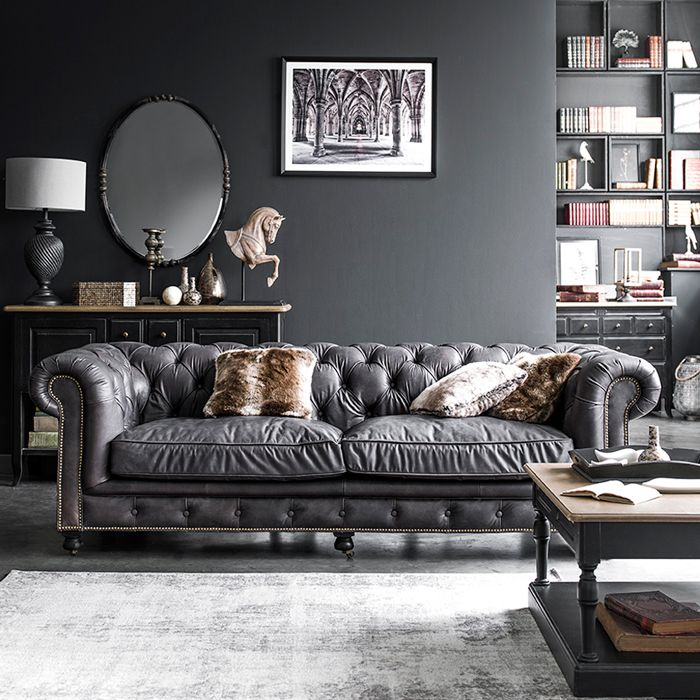 chesterfield bank stoer wonen industrieel interieur chesterfield fauteuil