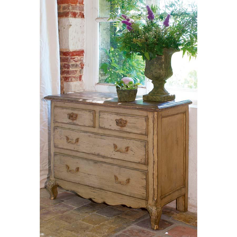 commode 4 tiroirs beige interior 39 s. Black Bedroom Furniture Sets. Home Design Ideas