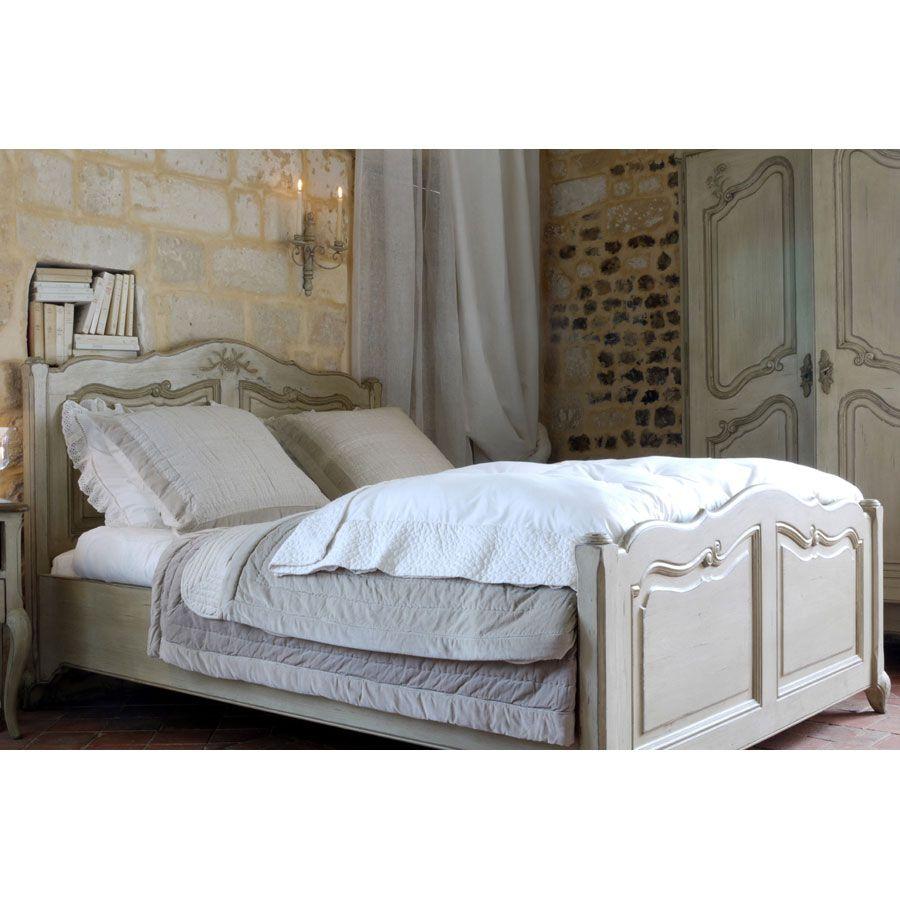 t te de lit en bois 170 cm beige interior 39 s. Black Bedroom Furniture Sets. Home Design Ideas