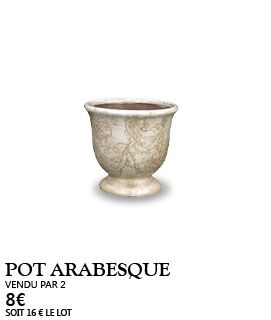 Pot Arabesque