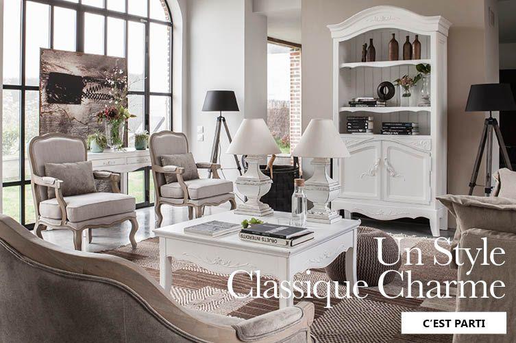 Interior 39 s meubles bois massif d coration salon for A r interior decoration llc