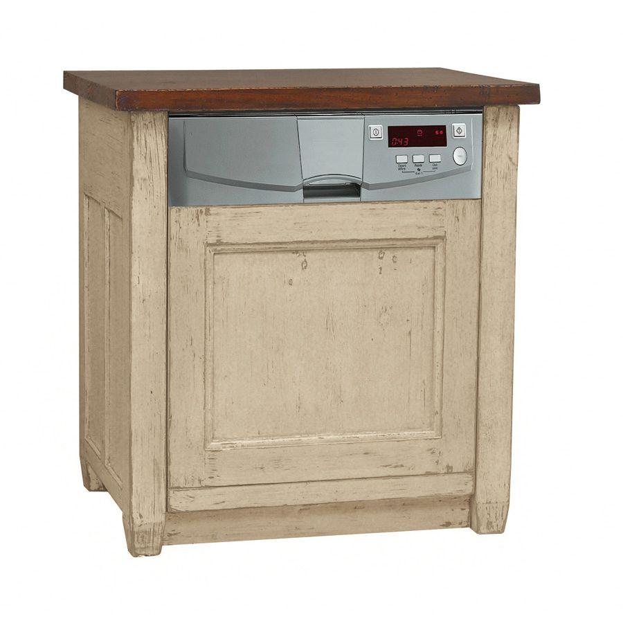 Meuble lave vaisselle int grable pin salle manger - Meuble pour lave vaisselle integrable ...
