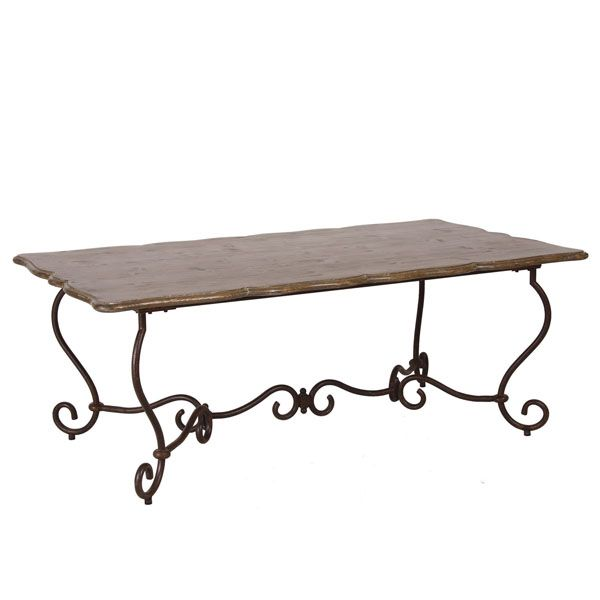 Table rectangulaire 8 10 couverts beige interior 39 s for Table 10 couverts