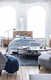 Chambre : Lits, têtes de lit, armoires, commodes - Interior\'s