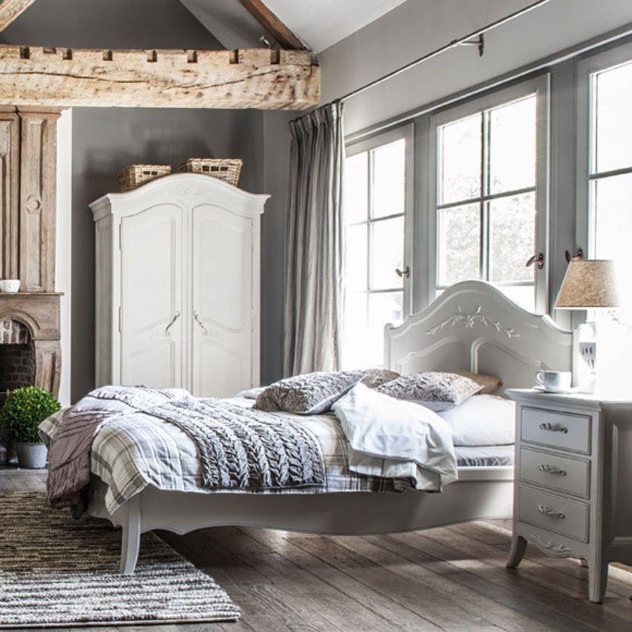 lit 160x200 cm avec sommier lattes beige interior 39 s. Black Bedroom Furniture Sets. Home Design Ideas