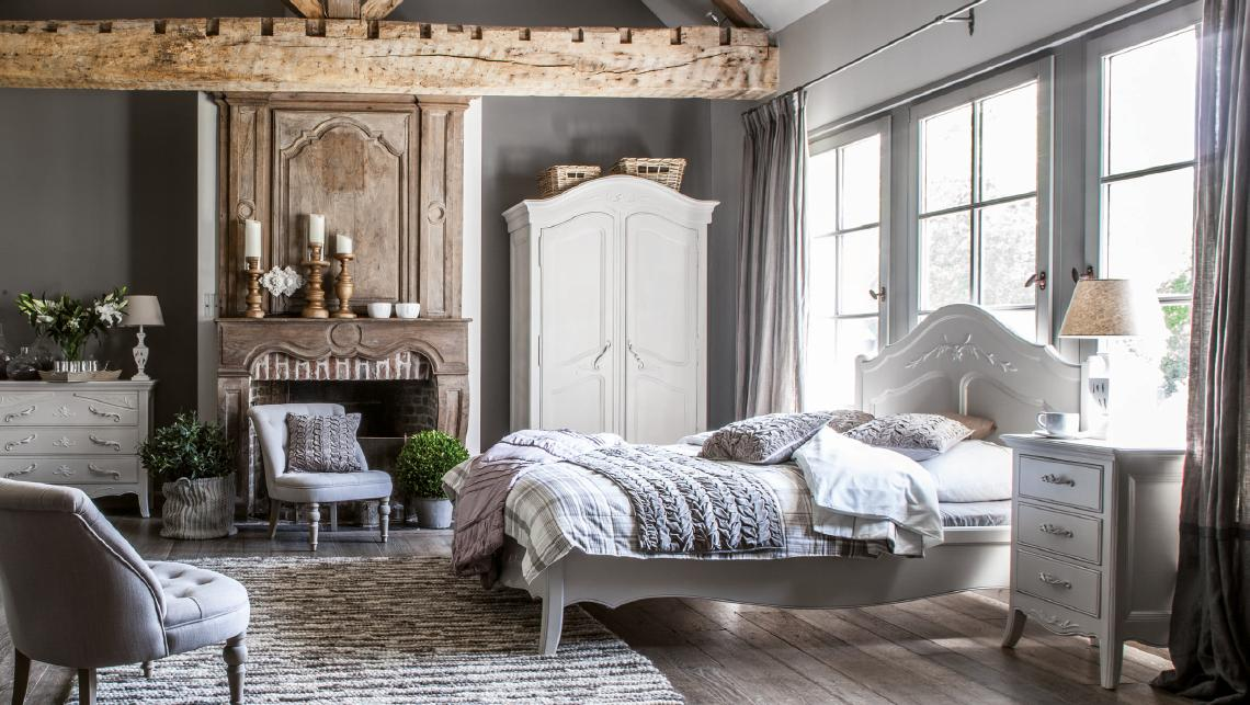 LUBERON Chambre style Provencal