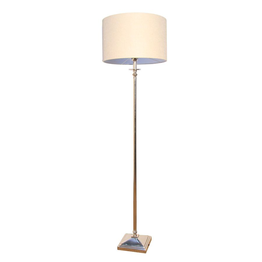 Lampadaire nickel H150