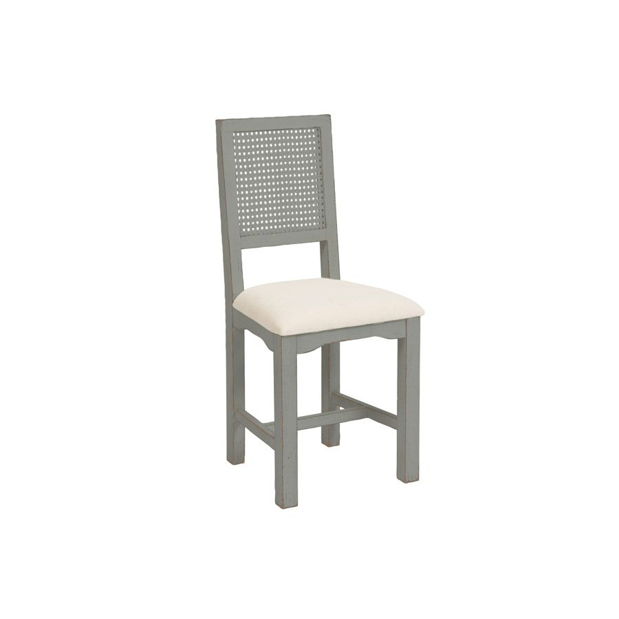 Chaise assise tissu gris interior 39 s - Soldes interiors meubles ...