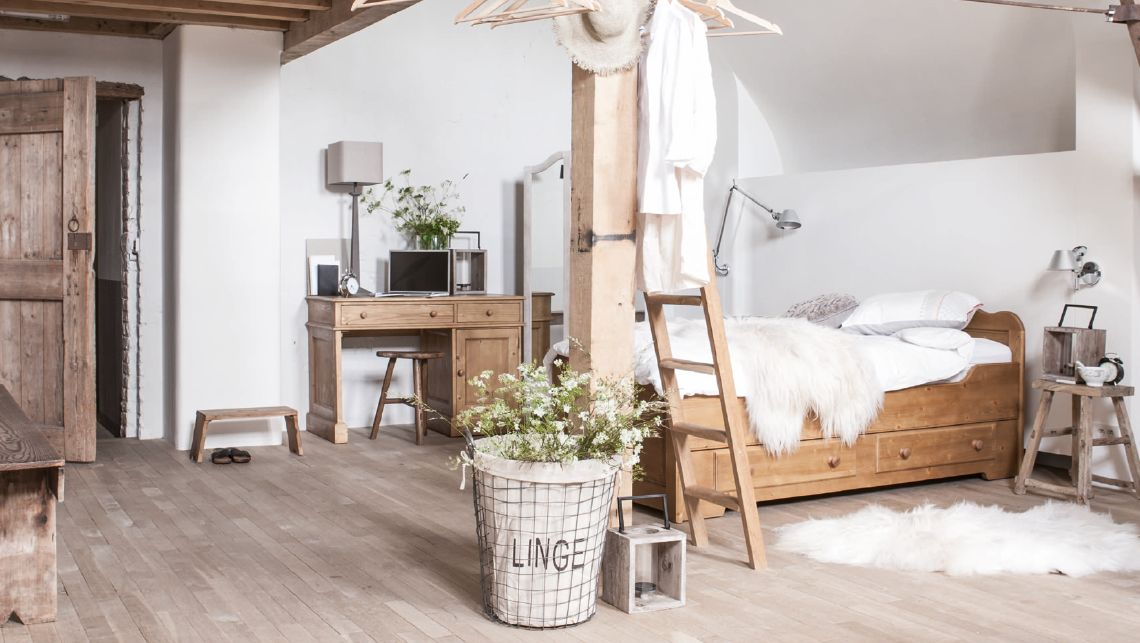 NATURAL Chambre style scandinave