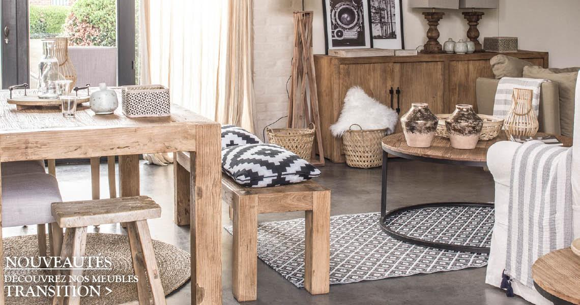 interior's : meubles bois massif, décoration : salon, chambre ... - Meuble Design Anglais
