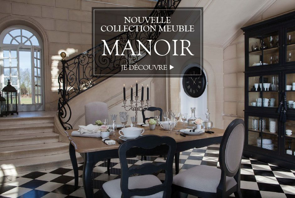 Nouvelle collection meubles Manoir
