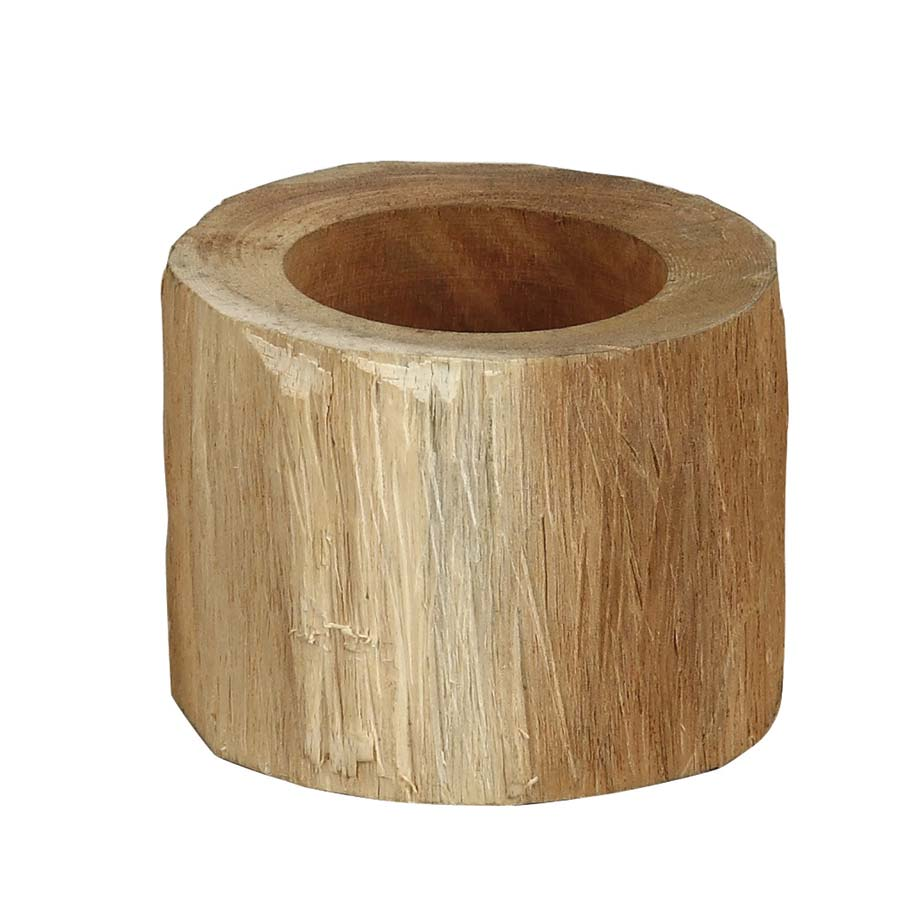 porte bougie en bois naturel marron interior 39 s. Black Bedroom Furniture Sets. Home Design Ideas