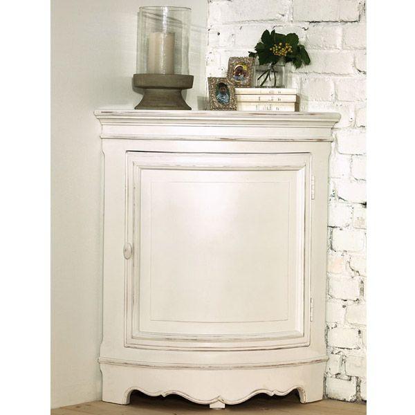 encoignure basse blanc interior 39 s. Black Bedroom Furniture Sets. Home Design Ideas