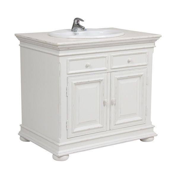 Meuble de salle de bain blanc interior 39 s for Meuble de chambre de bain