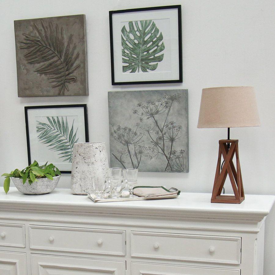 panneau d coratif en r sine effet ciment fleurs beige. Black Bedroom Furniture Sets. Home Design Ideas