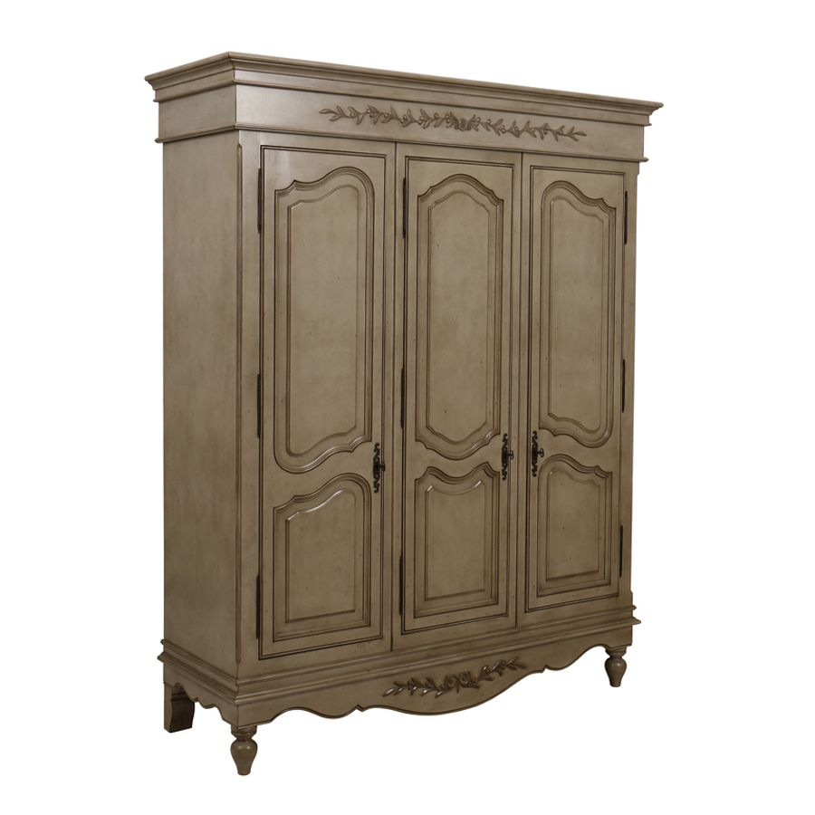 armoire 3 portes marron interior 39 s. Black Bedroom Furniture Sets. Home Design Ideas