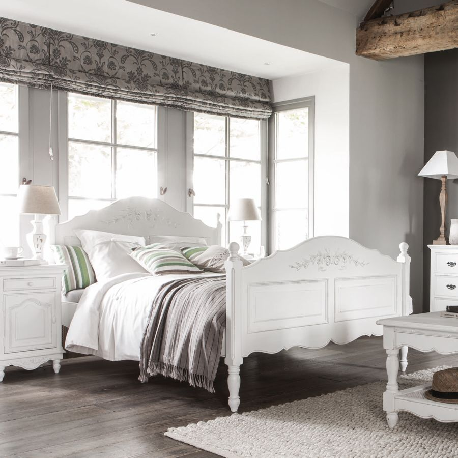 lit tiroirs 160x200 cm avec sommier lattes blanc interior 39 s. Black Bedroom Furniture Sets. Home Design Ideas