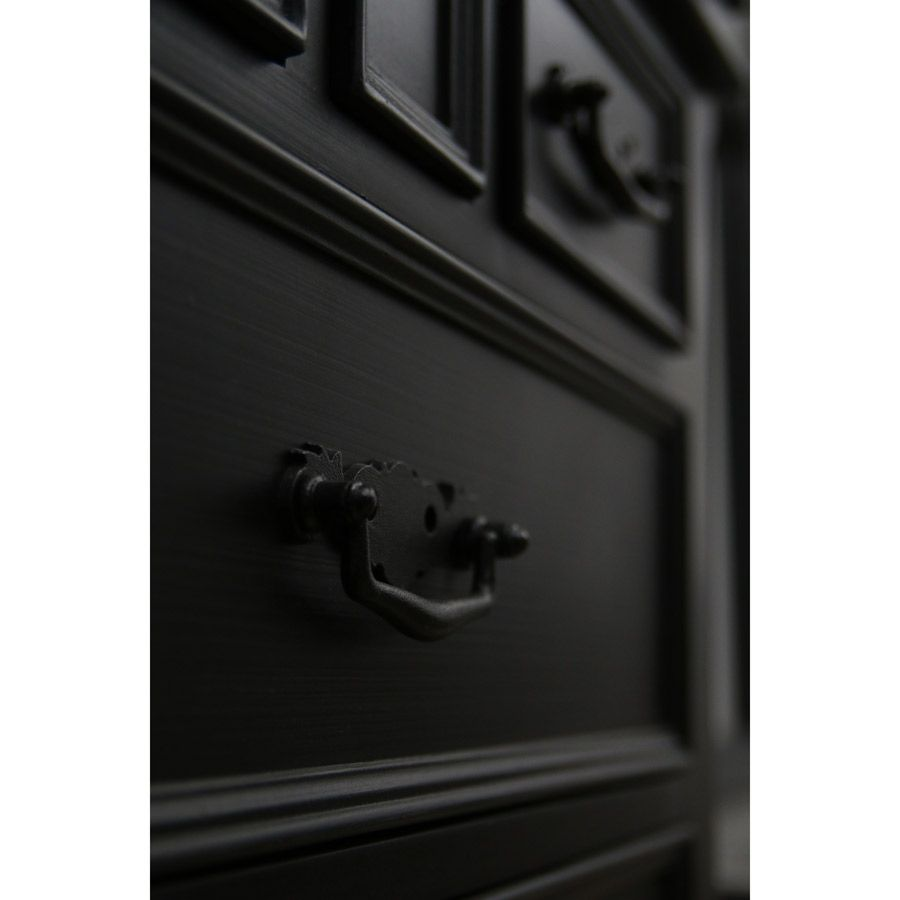 lit tiroirs 160x200 cm avec sommier lattes noir interior 39 s. Black Bedroom Furniture Sets. Home Design Ideas