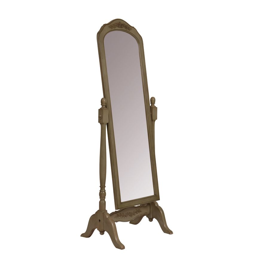 Miroir psych marron interior 39 s for Miroir psyche