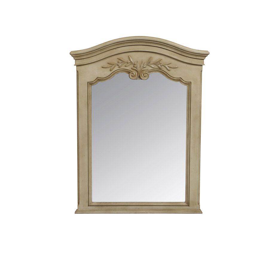 Miroir trumeau rectangulaire beige interior 39 s for Miroir trumeau blanc
